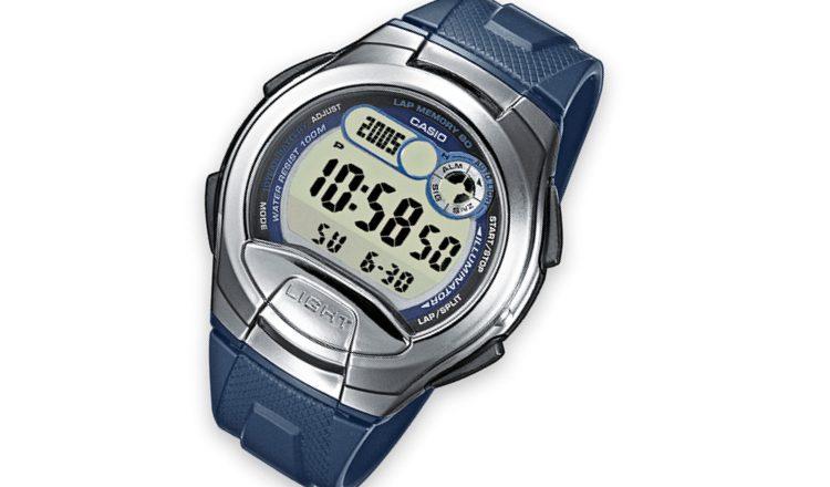 L'orologio Casio W-752-2Aves, il modello dalla batteria decennale