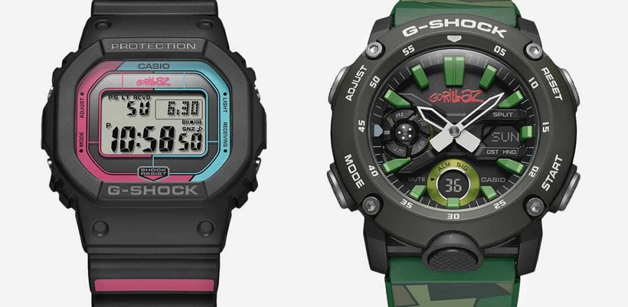 Exclusive Gorillaz X G-SHOCK