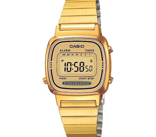 Orologio Casio donna dorato LA670WEGA-9EF